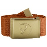 Fjällräven Canvas Brass Belt 4 cm , Canvas Brass Belt 4 cm , Autumn Leaf