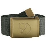 Fjällräven Canvas Brass Belt 4 cm , Canvas Brass Belt 4 cm , Mountain Grey