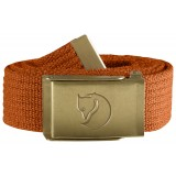 Fjällräven Canvas Brass Belt 3 cm, Canvas Brass Belt 3 cm, Autumn Leaf