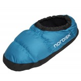 Nordisk Mos Down Shoes toffla, Mos Down Shoes toffla, Limoges Blue