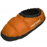 Nordisk Mos Down Shoes toffla, Mos Down Shoes toffla, Red Orange