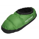 Nordisk Mos Down Shoes toffla, Mos Down Shoes toffla, Peridot Green
