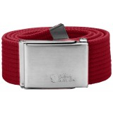 Fjällräven Canvas Belt , Canvas Belt , Deep Red