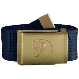 Fjällräven Canvas Brass Belt 4 cm , Canvas Brass Belt 4 cm , Dark Navy