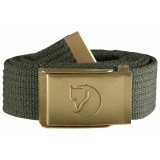 Fjällräven Canvas Brass Belt 3 cm, Canvas Brass Belt 3 cm, Mountain Grey