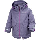 Didriksons Milo Kid's Jacket barnjacka, Milo Kid's Jacket barnjacka, Dusty Purple 279