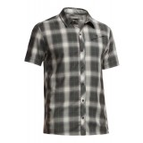 Icebreaker Departure SS Shirt Plaid herrskjorta, Departure SS Shirt Plaid herrskjorta, Monsoon/Metro HTHR