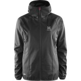 Haglöfs Mistral Hood Women softshell, Mistral Hood Women softshell, True Black