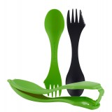 Light My Fire Sporks 'n Case™, Sporks 'n Case™, Black/Green