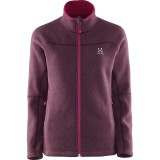 Haglöfs Swook Q Jacket fleece, Swook Q Jacket fleece, Aubergine