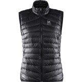 Haglöfs Essens III Down Vest Women dunväst, Essens III Down Vest Women dunväst, True Black/Magnetite