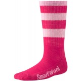 Smartwool Hike Light Crew Stripe Kids barnstrumpor, Hike Light Crew Stripe Kids barnstrumpor, Punch 609