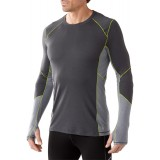 Smartwool PhD Light Long Sleeve undertröja, PhD Light Long Sleeve undertröja, Graphite 018