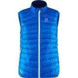 Haglöfs Essens III Down Vest Women dunväst, Essens III Down Vest Women dunväst, Vibrant Blue/Hurricane