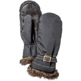 Hestra Female Winter Forest Mitt vantar, Female Winter Forest Mitt vantar, Black/Black