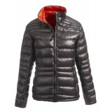 Yeti Desire Down Jacket damdunjacka, Desire Down Jacket damdunjacka, Dark Gull Grey/Mandarin Red