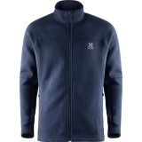 Haglöfs Swook jacket fleece, Swook jacket fleece, Deep Blue