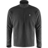 Haglöfs Astro II Top Men herrfleece, Astro II Top Men herrfleece, True Black