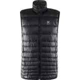 Haglöfs Essens III Down Vest Men dunväst, Essens III Down Vest Men dunväst, True Black/Magnetite