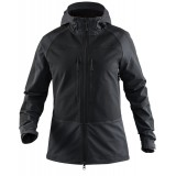 Tierra Ace Hood Jacket WMS softshell, Ace Hood Jacket WMS softshell, Black