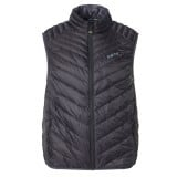 Me°ru' Kelowna II Light Down Vest Men herrväst, Kelowna II Light Down Vest Men herrväst, Black/Dark Grey