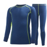 Helly Hansen Jr. HH Warm Set 2 barnunderställ, Jr. HH Warm Set 2 barnunderställ, 292 Deep Blue