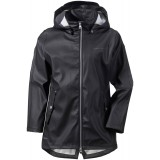 Didriksons Tia Girl's Galon Jacket regnjacka, Tia Girl's Galon Jacket regnjacka, Black 060