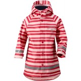 Didriksons Babu Printed Kid's Jacket regnjacka, Babu Printed Kid's Jacket regnjacka, Striped Peark 095