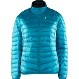 Haglöfs Essens III Down Jacket Women dunjacka, Essens III Down Jacket Women dunjacka, Peacock/magnetite