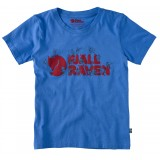 Fjällräven Kids Trek Logo T-Shirt, Kids Trek Logo T-Shirt, Un Blue
