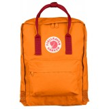 Fjällräven Kånken rygsæk, Kånken rygsæk, Burnt Orange/Deep Red
