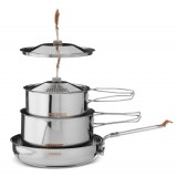 Primus CampFire Cookset S/S Small grytset, CampFire Cookset S/S Small grytset, .