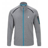 Peak Performance Pivot Zip M, Pivot Zip M, M08 Grey Mel/25L Mosaic Blue