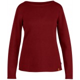 Fjällräven Kiruna Knit Sweater WMS, Kiruna Knit Sweater WMS, Ox Red