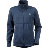 Didriksons Crave Jacket herrfleece, Crave Jacket herrfleece, 034/DUST BLUE