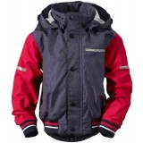 Didriksons Googana Kid's Jacket barnjacka, Googana Kid's Jacket barnjacka, Flag Red 305
