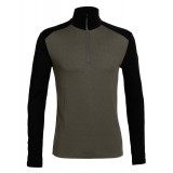 Icebreaker Tech Top LS Half Zip M undertröja, Tech Top LS Half Zip M undertröja, Monsoon/Black