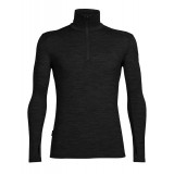 Icebreaker Tech Top LS Half Zip M undertröja, Tech Top LS Half Zip M undertröja, Black