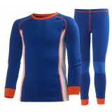 Helly Hansen Jr. HH Warm Set 2 barnunderställ, Jr. HH Warm Set 2 barnunderställ, 533 Classic Blue
