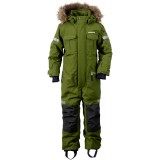 Didriksons Migisi Kid's Coverall overall, Migisi Kid's Coverall overall, 191/TURTLE GREEN
