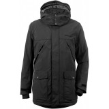 Didriksons Mike Men's Parka herrparkas, Mike Men's Parka herrparkas, Black 060