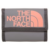 The North Face Base Camp Wallet plånbok, Base Camp Wallet plånbok, Zinc Grey/Tropical Coral