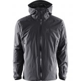 Haglöfs Pirta Jacket Men skidjacka, Pirta Jacket Men skidjacka, True Black