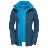 The North Face Evolve II Triclimate Jacket WMS vinterjacka, Evolve II Triclimate Jacket WMS vinterjacka, Shady Blue