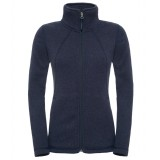 The North Face Crescent Full Zip WMS damfleece, Crescent Full Zip WMS damfleece, Cosmic Blue Heather