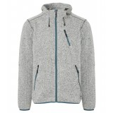 Me°ru' Mallebo Fleece Hoody Men herrfleece, Mallebo Fleece Hoody Men herrfleece, Grey Melange/Stargazer