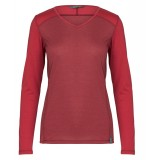 Me°ru' Bari Long Sleeve dam-T-shirt, Bari Long Sleeve dam-T-shirt, Fig/Deep Claret