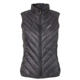 Me°ru' White Rock Vest Light Women damväst, White Rock Vest Light Women damväst, Caviar