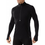 Smartwool Men's PhD Light Zip T undertröja, Men's PhD Light Zip T undertröja, Black 001