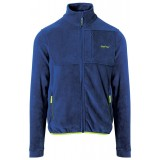 Me°ru' Lethbridge Fleece Jacket Men herrfleece, Lethbridge Fleece Jacket Men herrfleece, True Blue